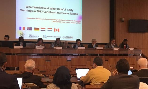 CREWS, UNESCO/IOC share common vision for strengthening